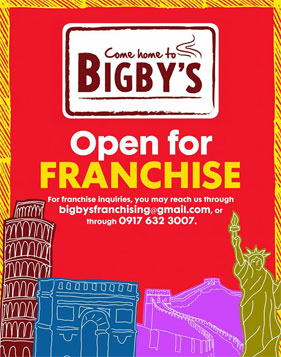 Bigby S Is Open For Franchising Bigby S Cafe And