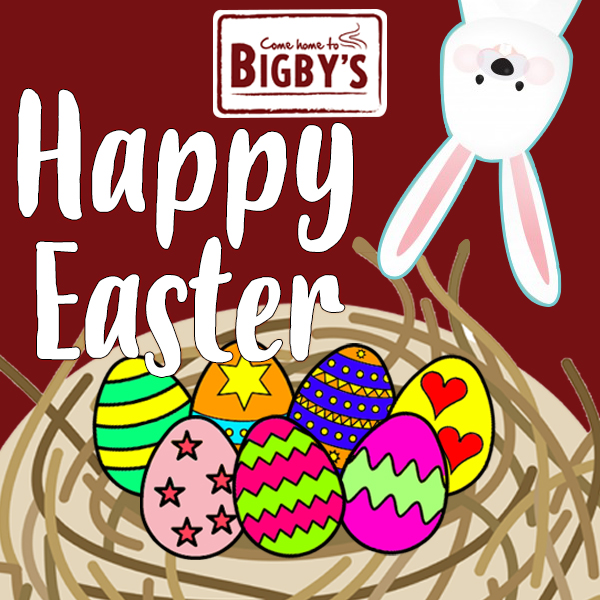 Bigby's Happy Easter