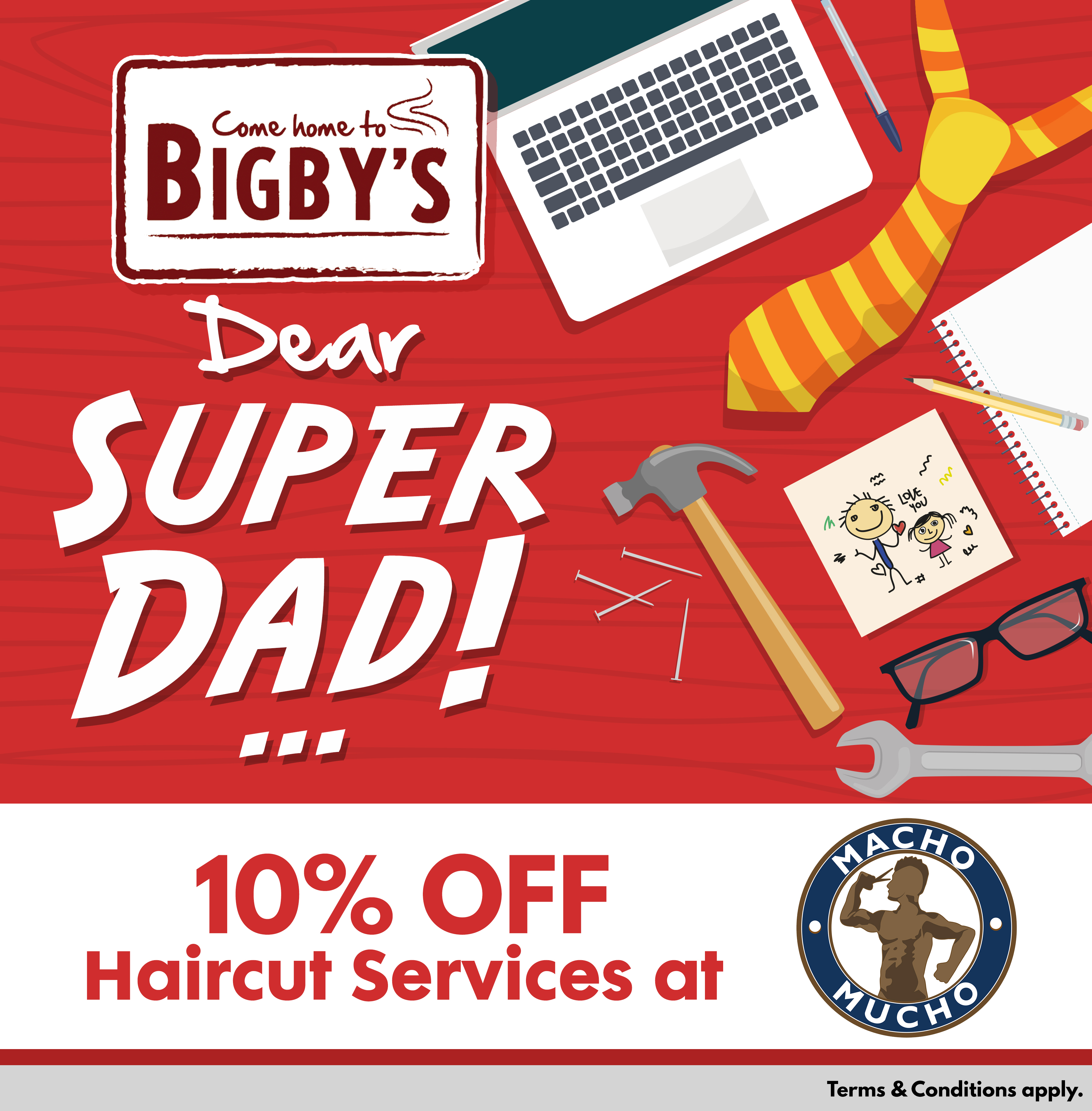 bigby s father s day 2017 promo bigby s cafe and restaurant come