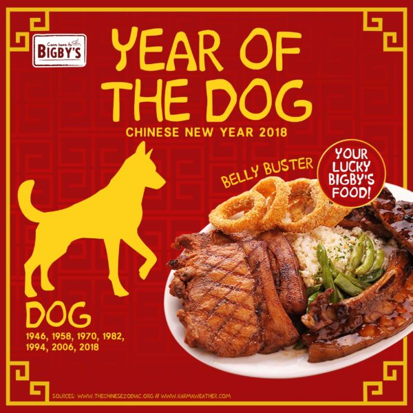 Happy Chinese New Year! - Bigby's Cafe and Restaurant | Come